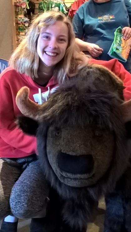 Enjoying the buffalo without paying $125.